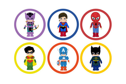 Mini super heroes cliparts gratis jpg black and white library Free Superhero Cliparts, Download Free Clip Art, Free Clip Art on ... jpg black and white library