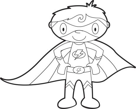 Super hero clipart black and white clip transparent stock Superhero Clipart Black And White – Gclipart - Free Clipart clip transparent stock