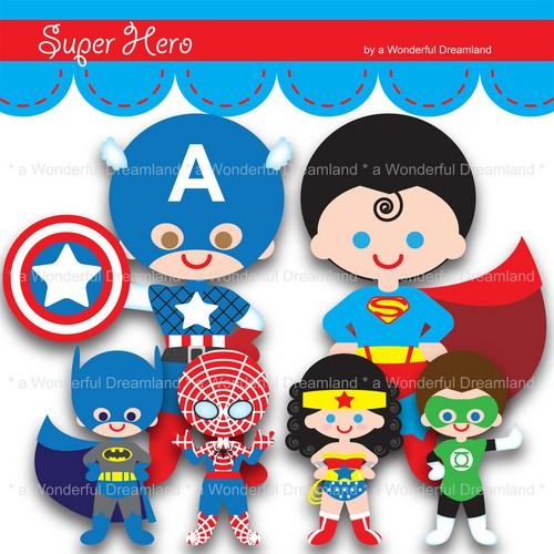 Free superhero printables clipart clipart freeuse Free superhero printables clipart - ClipartFest clipart freeuse