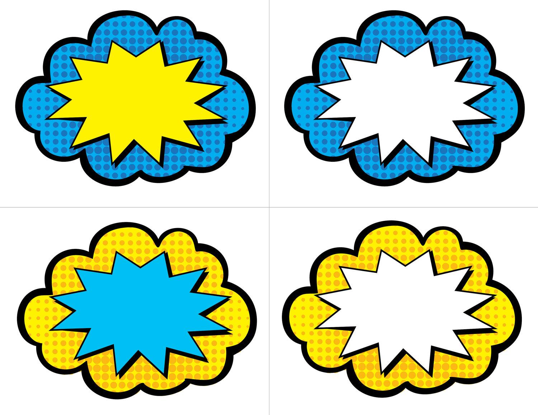Free superhero printables clipart clipart transparent Free printable superhero clipart - ClipartFest clipart transparent