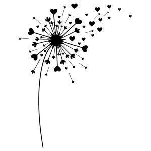 Free svg clipart for cricut flowers black and white svg free download Image result for dandelion Free SVG Files for Cricut | Cricut ... svg free download