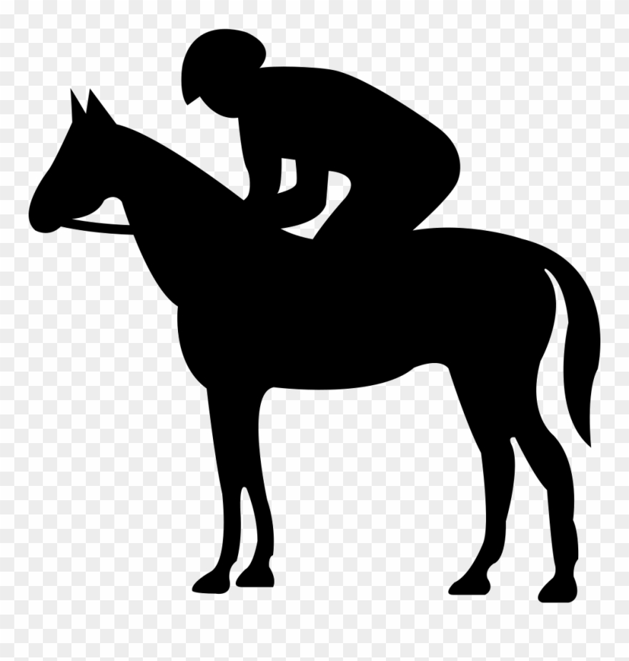Free svg horse rider clipart freeuse Quiet Horse With Jockey Silhouette Svg Png Icon Free - Vector Horse ... freeuse