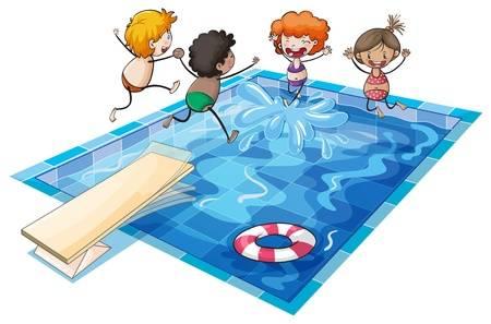 Free swimming pool clipart clip art free download pool clipart - Honey & Denim clip art free download