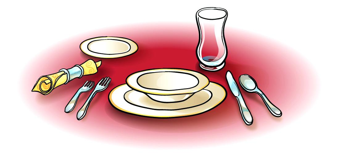 Free table setting clipart graphic freeuse Free table setting clipart 4 » Clipart Station graphic freeuse