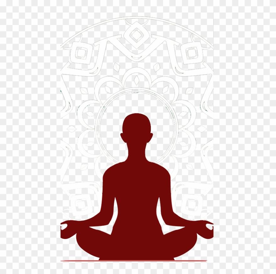 Free tea meditation cliparts graphic freeuse library Gymnastics Clipart Yoga Boy - Mindfulness Meditation Silhouette ... graphic freeuse library