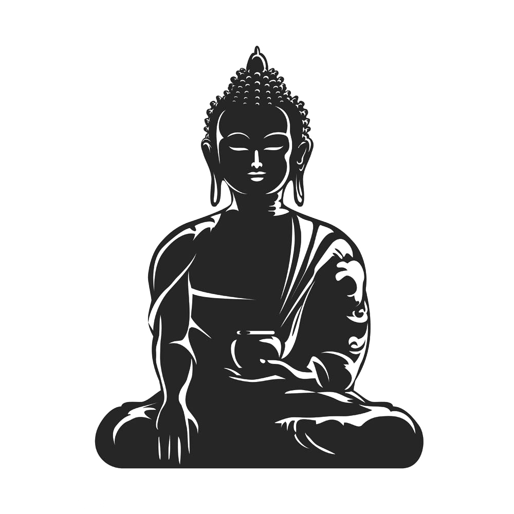 Free tea meditation cliparts svg library Buddhism Buddhist meditation Clip art - Cut the Buddha statue png ... svg library