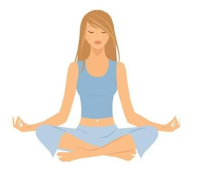 Free tea meditation cliparts free download Free Relaxing Clip Art | Footpath Yoga: Chakra 1 - Muladhara ... free download