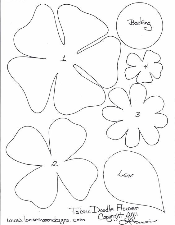 Free template for flowers banner freeuse download 17 Best ideas about Flower Template on Pinterest | Felt flowers ... banner freeuse download