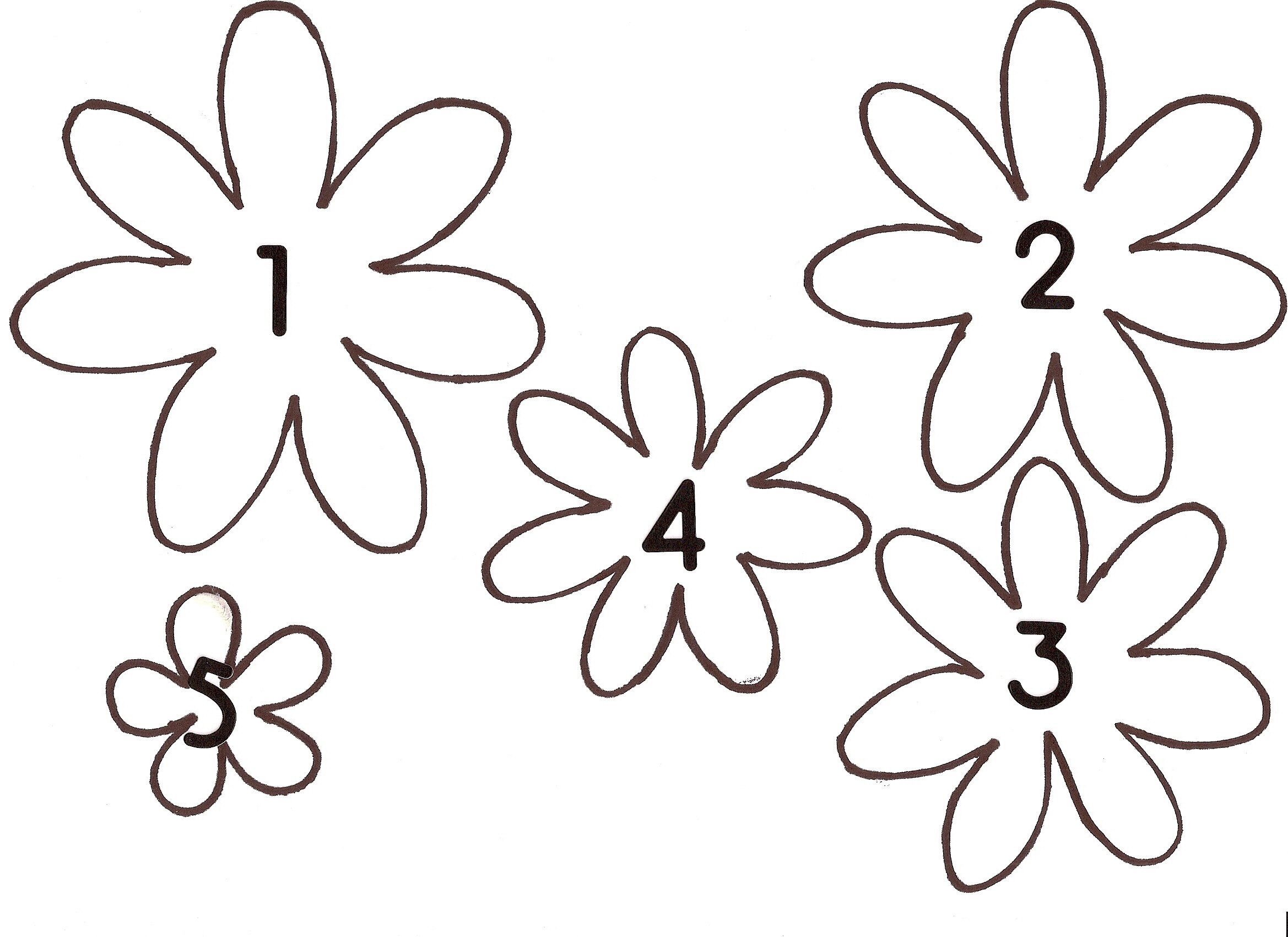 Free template for flowers image royalty free download Flowers Template | Free Download Clip Art | Free Clip Art | on ... image royalty free download