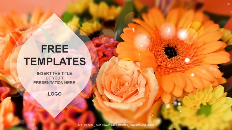 Free template for flowers banner Flowers Nature PPT Templates + Download Free + banner