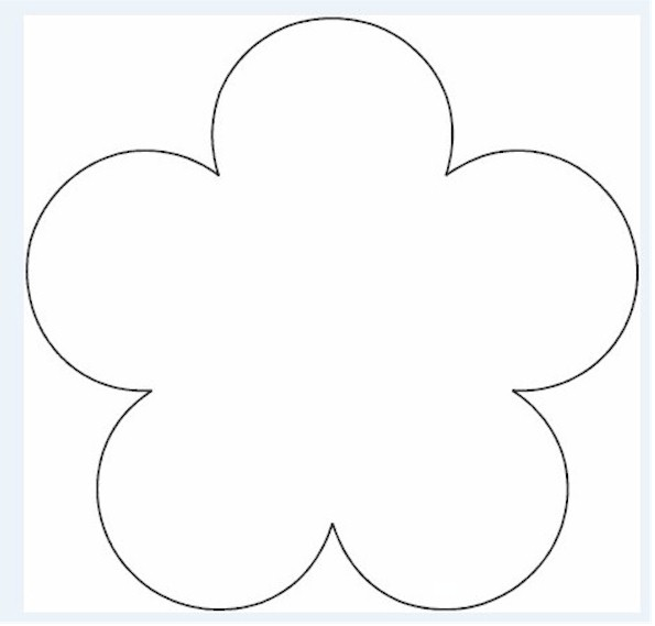 Free template for flowers clip free Free template for flowers - ClipartFest clip free