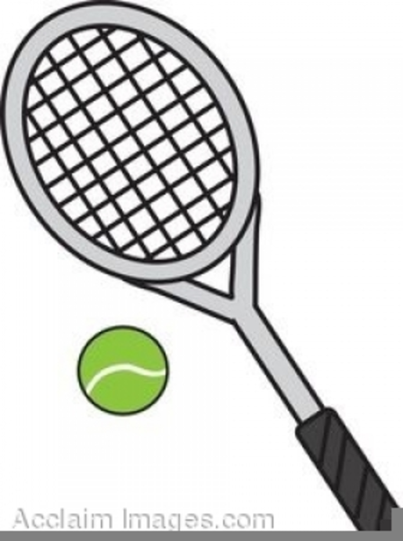 Free tennis cliparts clip royalty free stock Tennis Racquets Clipart Free | Free Images at Clker.com - vector ... clip royalty free stock