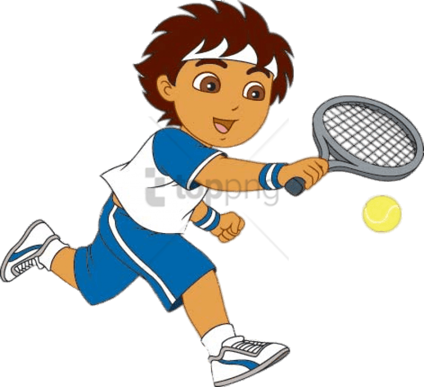Free tennis cliparts clip art library download Download Diego Playing Tennis Clipart Png Photo TOPpng Acceptable ... clip art library download