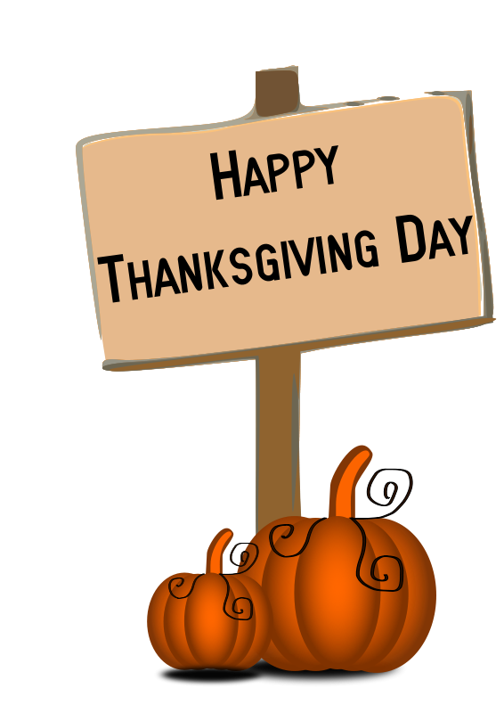 Happy thanksgiving banner type clipart freeuse stock Free Thanksgiving Clipart Pictures - Clipartix freeuse stock