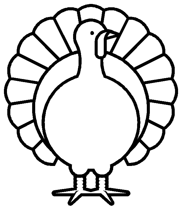 Free thanksgiving turkey clipart black and white graphic Turkey black and white free black and white turkey clipart ... graphic