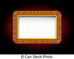 Free theater marquee clipart svg royalty free Theater marquee Stock Illustrations. 2,980 Theater marquee clip art ... svg royalty free