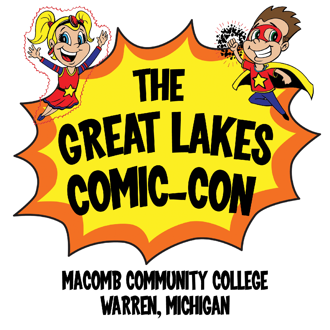 Free tiff comic book clipart svg royalty free library Sponsorship - The Great Lakes Comic-Con svg royalty free library