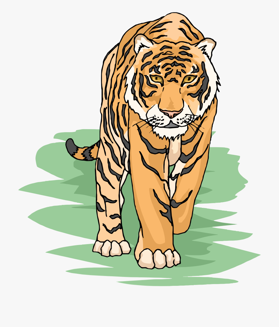 Tiger in clipart image stock Tiger Clipart Cliparts And Others Art Inspiration - Tiger Clipart ... image stock
