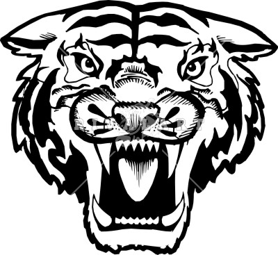 Tiger face clipart black and white banner library download Free Tiger Head Clipart, Download Free Clip Art, Free Clip Art on ... banner library download