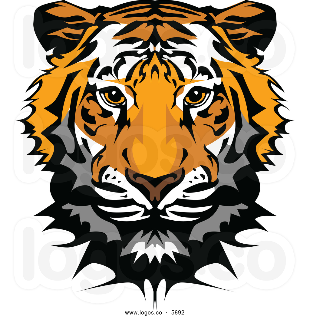 Free tiger head clipart png freeuse library 93+ Tiger Head Clipart | ClipartLook png freeuse library