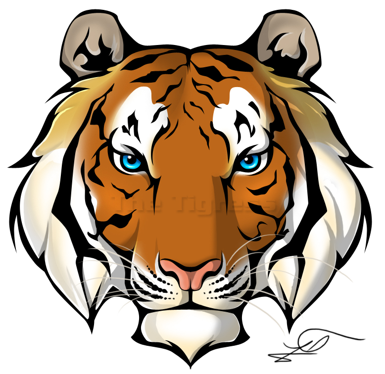 Free tiger head clipart clipart free library Tiger Head Cliparts | Free download best Tiger Head Cliparts on ... clipart free library