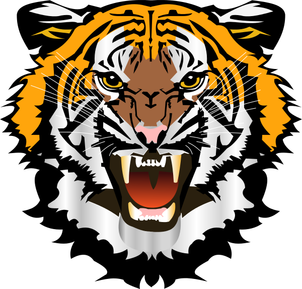 Free tiger head clipart vector freeuse library Tiger Head Png (+) - Free Download | fourjay.org vector freeuse library