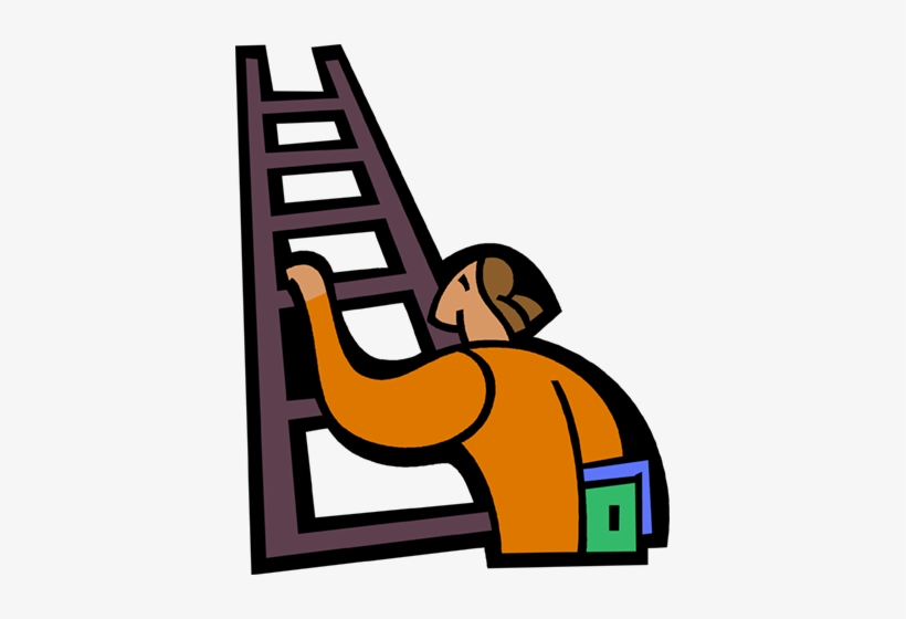 Free to us clipart man climbing ladder clip royalty free stock Ladder Clipart Boy - Climbing Ladder Cartoon Png Transparent PNG ... clip royalty free stock