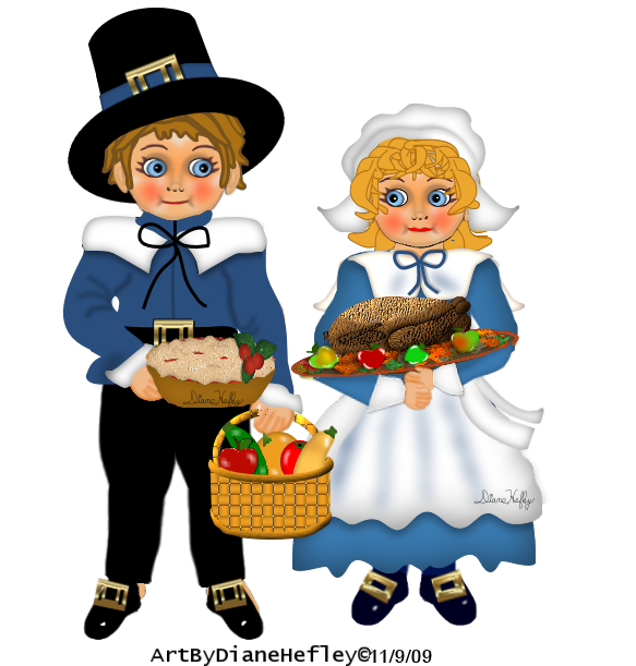 Free to use thanksgiving psp clipart vector transparent Pilgrims, Indians, Mice.ETC.Thanksgiving Tube Challenge - Diane's ... vector transparent