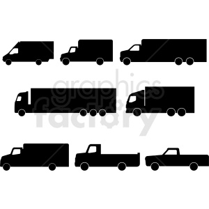 Free pick up truck silloette clipart image graphic download silhouette clipart - Royalty-Free Images | Graphics Factory graphic download