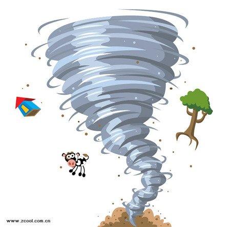 Free tornado clipart images vector transparent Free Cartoon tornados Clipart and Vector Graphics - Clipart.me vector transparent