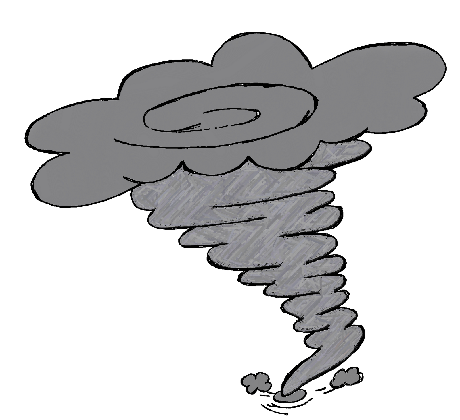 Free tornado clipart images image black and white download Tornado Clipart Black And White | Clipart Panda - Free Clipart ... image black and white download