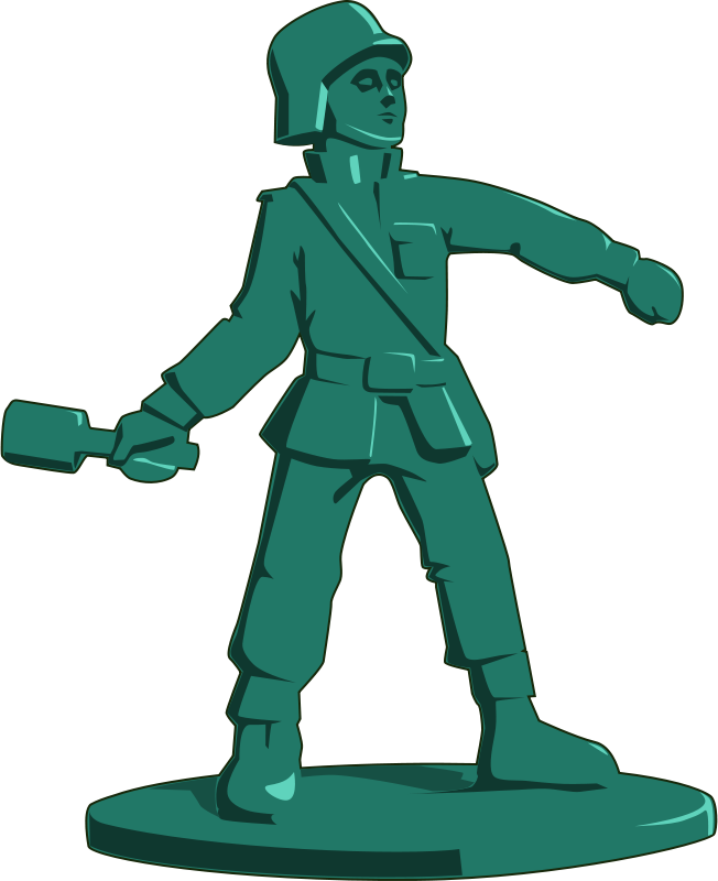 Toy soldier clipart free banner black and white library Free Clipart: Toy soldier | tzunghaor banner black and white library