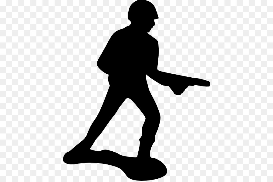 Free toy soldier clipart picture black and white stock Soldier Silhouette png download - 486*596 - Free Transparent Soldier ... picture black and white stock