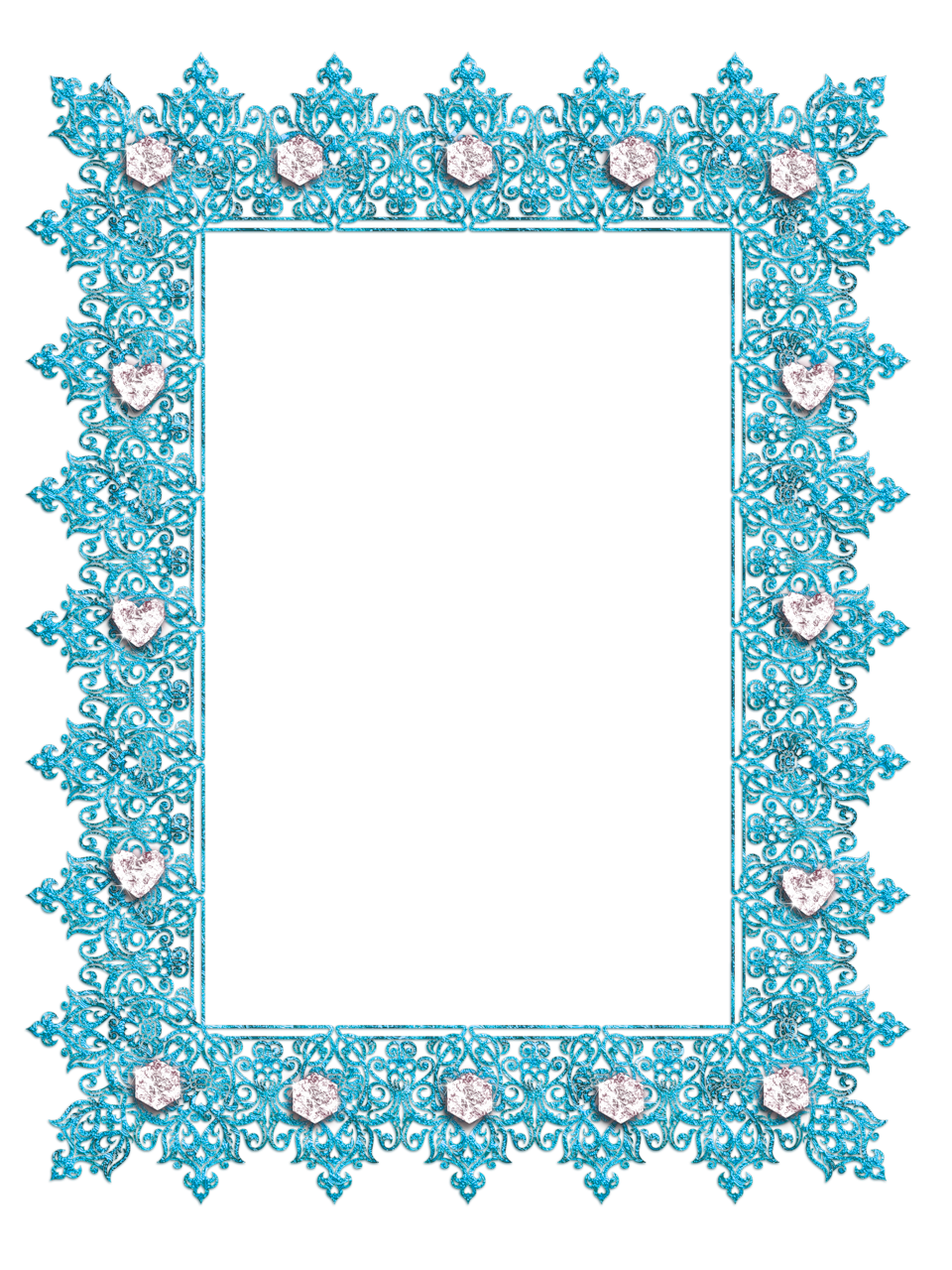 Free transparent apple jackpot clipart vector royalty free Blue Transparent Frame with Diamonds | Marcos para todo | Pinterest ... vector royalty free