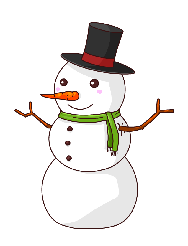 Free transparent christmas clipart snowflake hangers clip royalty free stock Free to Use & Public Domain Snowman Clip Art | Sonw man | Pinterest ... clip royalty free stock
