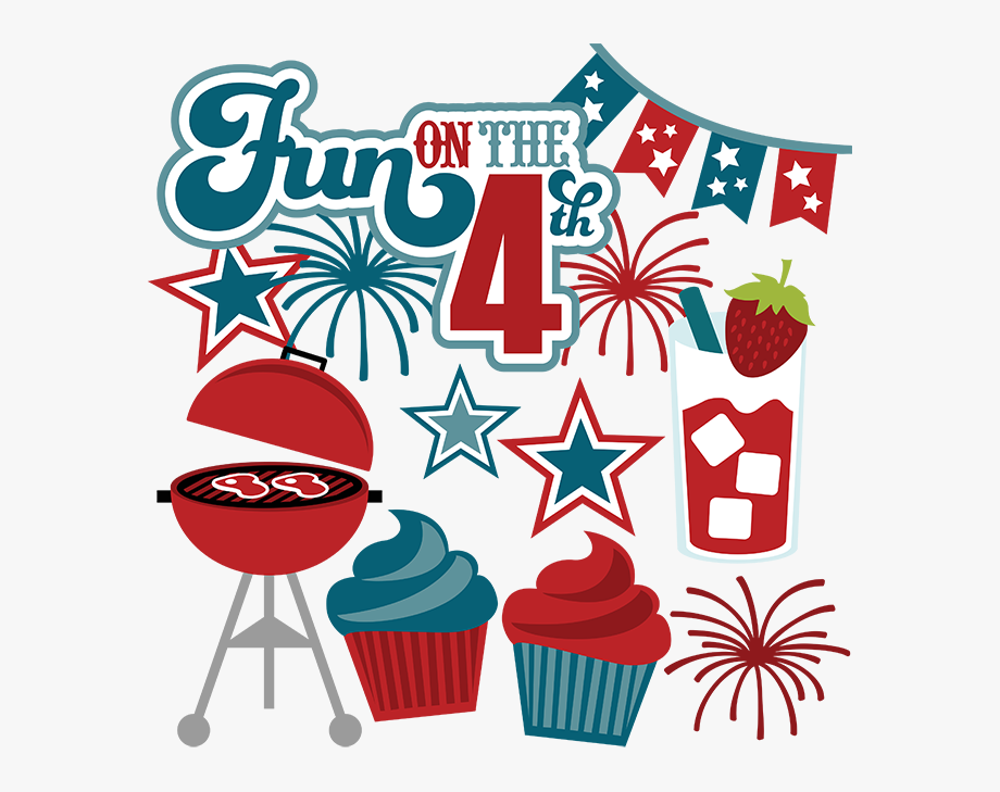Free transparent fourth of july baking clipart graphic free stock Fun On The - Miss Kate Cuttables 4th Of July #59367 - Free Cliparts ... graphic free stock