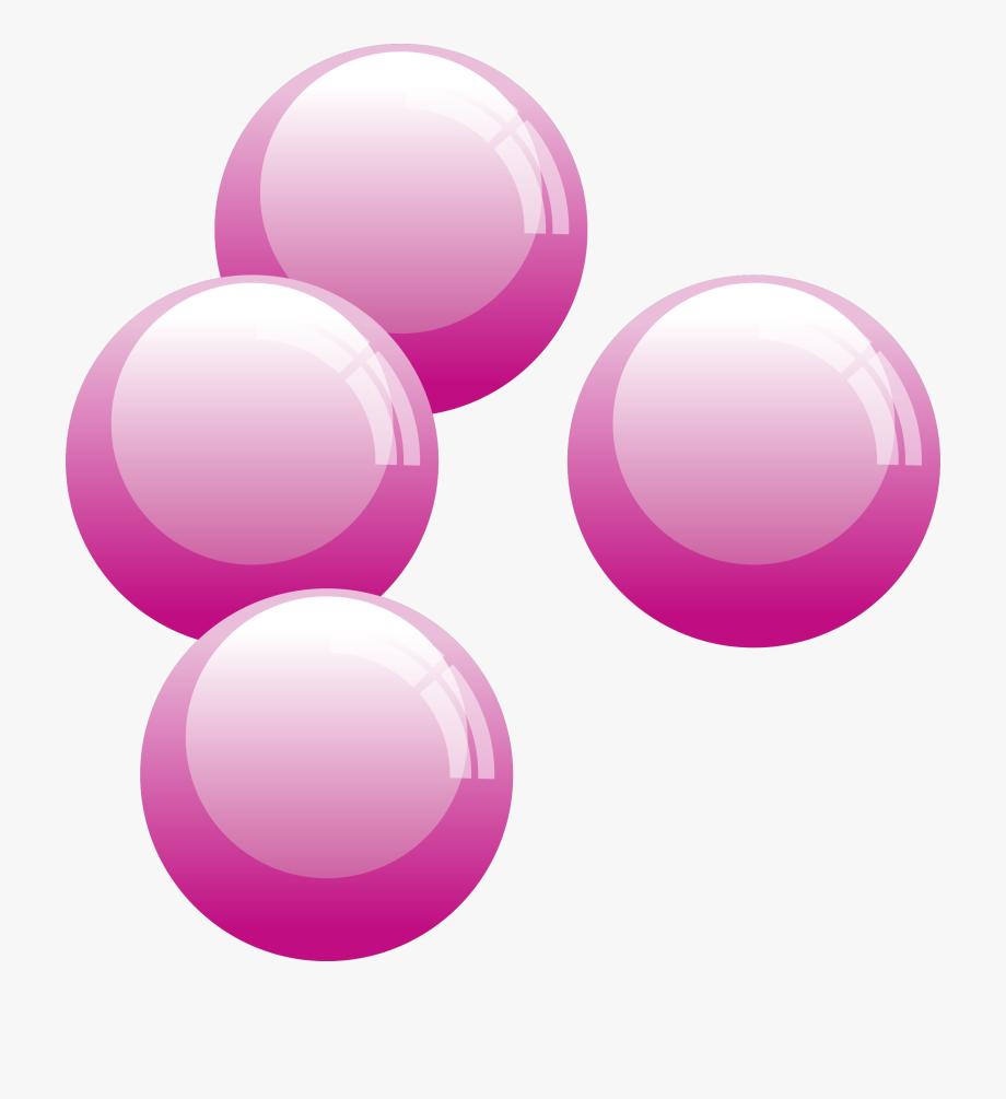 Free transparent light pink gum bubble clipart graphic freeuse library Pink Bubbles Clip Art #113642 - Free Cliparts on ClipartWiki graphic freeuse library