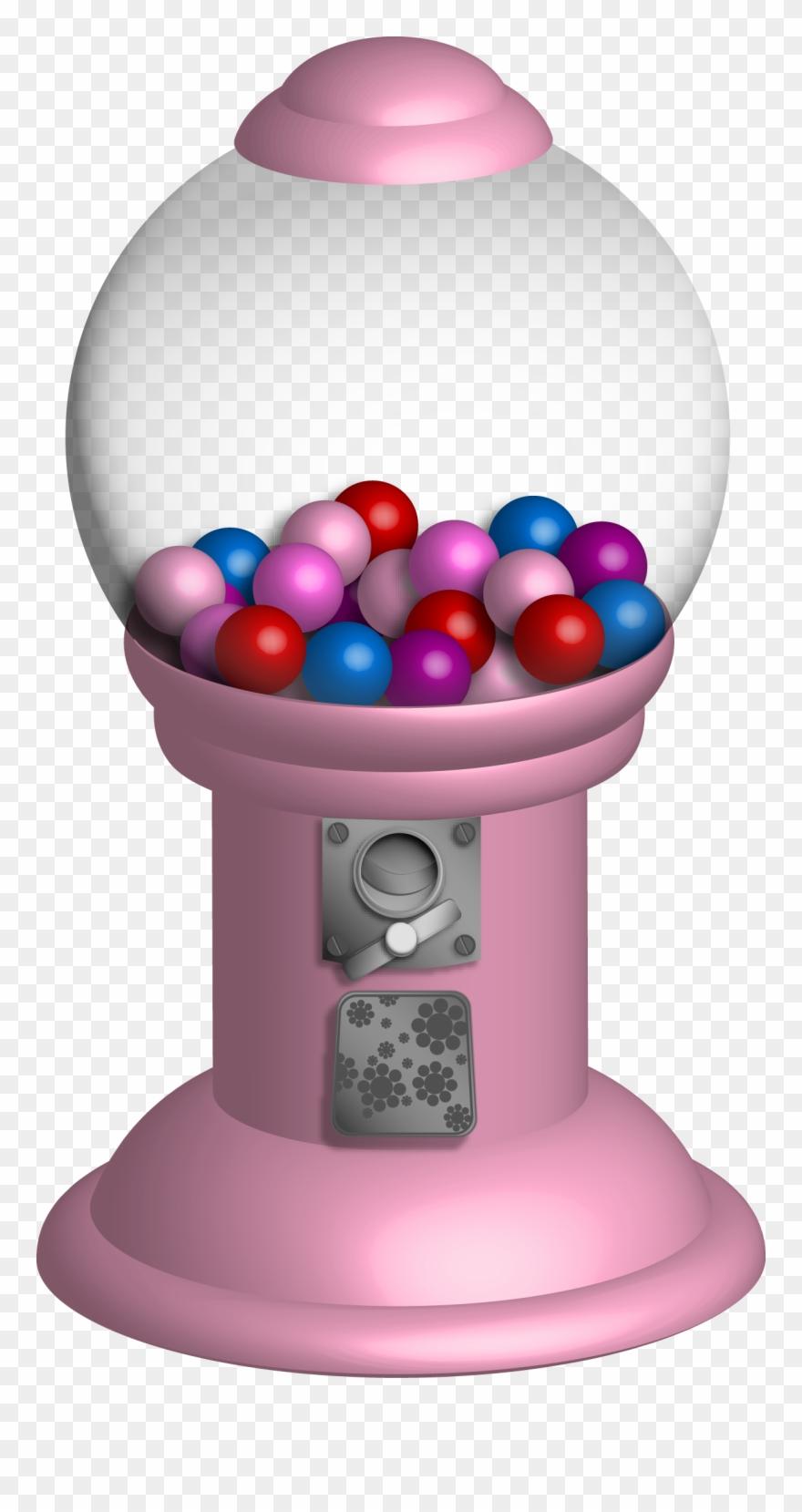 Free transparent light pink gum bubble clipart clip download Download Pink - Bubble Gum Machine Transparent Clipart (#2150442 ... clip download