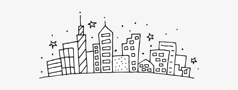 Free transparent new york rose coloring page clipart transparent stock New York Skyline Coloring Page New Skyline Coloring - City Scape ... transparent stock