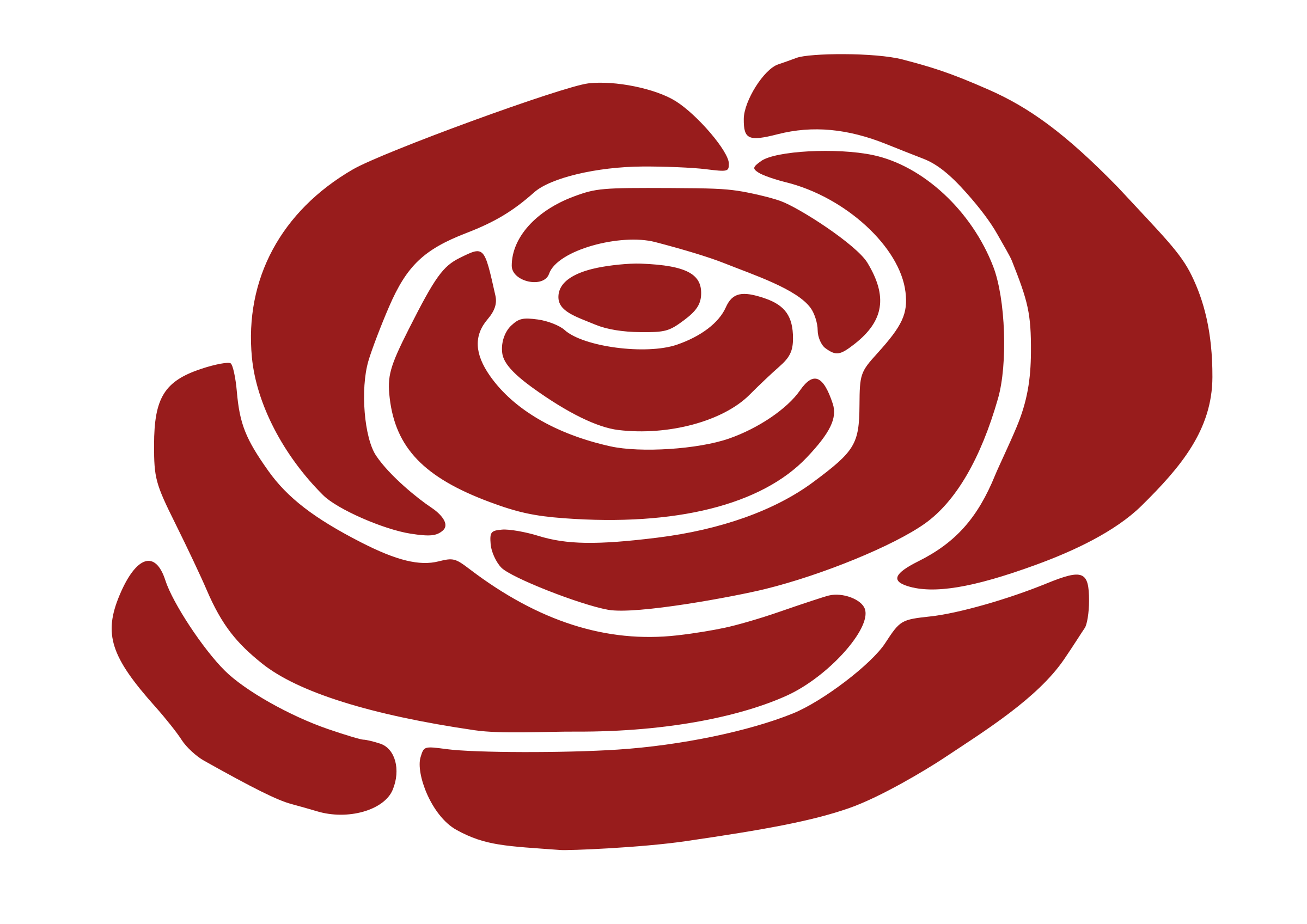 Free transparent new york rose coloring page clipart svg royalty free library Rose Silhouette Clip art - rose vector png download - 2400*1697 ... svg royalty free library