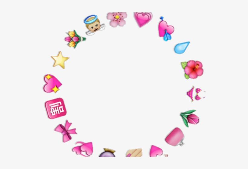 Transparent overlays clipart picture transparent download Aesthetic Clipart Tumblr Transparent Overlay - Heart Emoji Circle ... picture transparent download