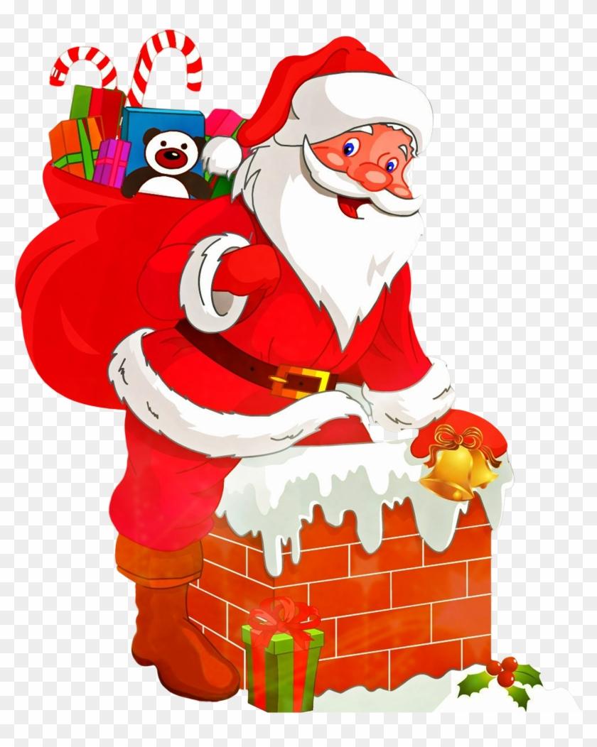Free transparent santa christmas presents tower clipart png download Santa Nativity Png & Free Santa Nativity.png Transparent Images ... png download