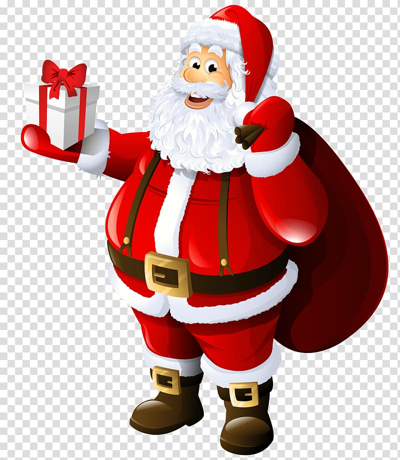 Free transparent santa christmas presents tower clipart picture black and white stock Gift transparent background PNG cliparts free download | HiClipart picture black and white stock