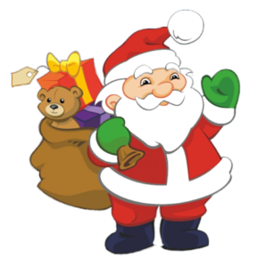 Free transparent santa christmas presents tower clipart banner free Do you work as hard on building your child\'s belief in God as you do ... banner free
