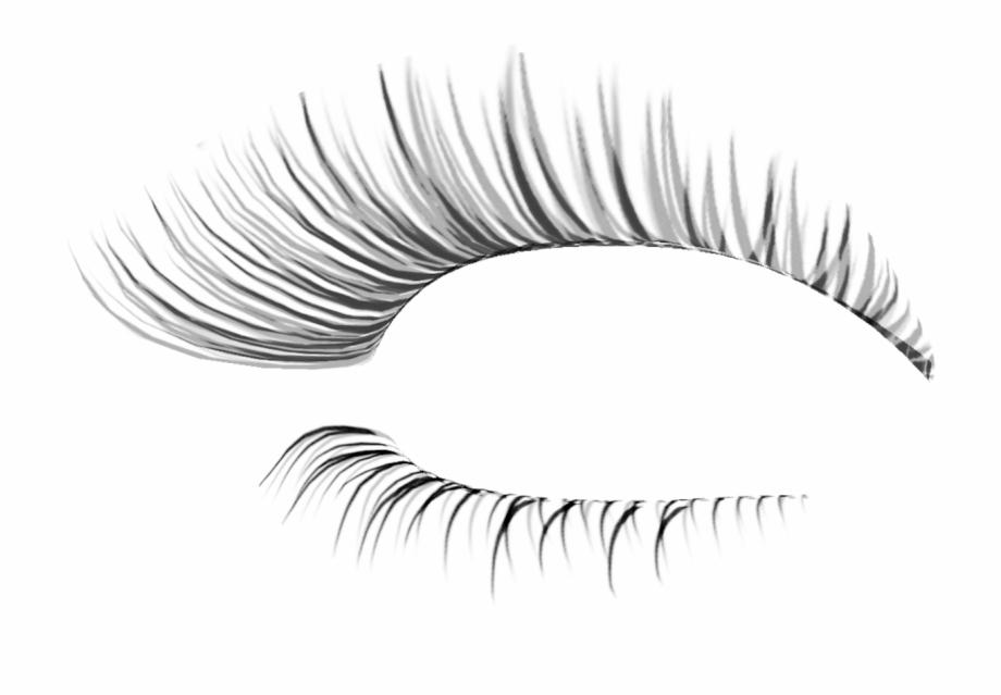 Free transparent sleepy eyes with lashes clipart png transparent Eye Lash Extension Transparent Background Eyelashes Transparent ... png transparent