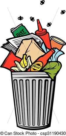 Free trash clipart vector library stock Pictures Of Trash   Free download best Pictures Of Trash on ... vector library stock
