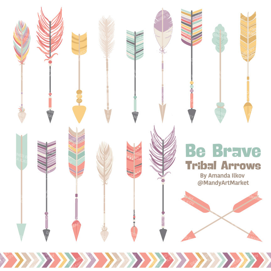 Free tribal arrow clipart banner freeuse download Pink clipart arrow free - ClipartFest banner freeuse download