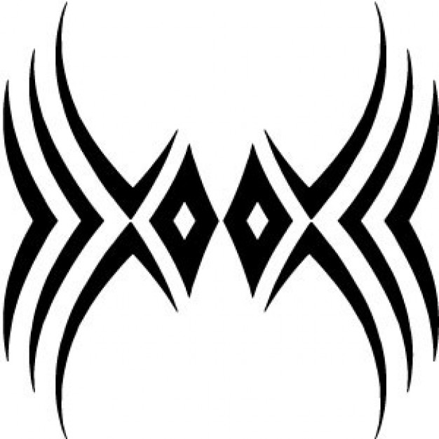 Free tribal clipart designs png black and white library Free Vector Tribal, Download Free Clip Art, Free Clip Art on Clipart ... png black and white library