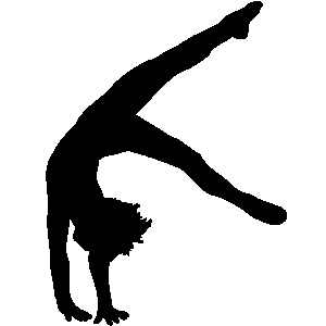 Tumbling clipart free clip black and white download Free Tumbling Gymnastics Cliparts, Download Free Clip Art, Free Clip ... clip black and white download