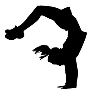 Free tumbling clipart png royalty free download Cheerleading Tumbling Clipart | Free Images at Clker.com - vector ... png royalty free download